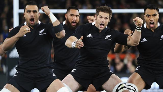 Rugby - All Blacks training squad for France series