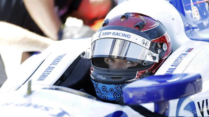 Russian Mikhail Aleshin a quick study in IndyCar