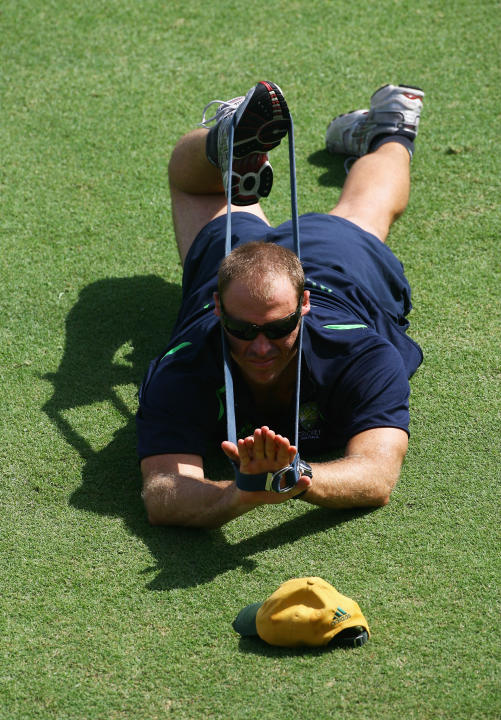 Australia Cricket Team Training