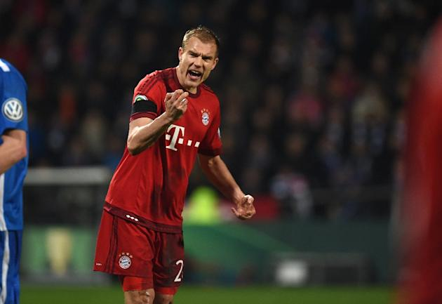 Bayern Munich defender Holger Badstuber underwent surgery for a fractured ankle
