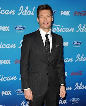 Ryan Seacrest attends the 'American Idol' Top 10 party in Los Angeles, March 7, 2013 -- FOX