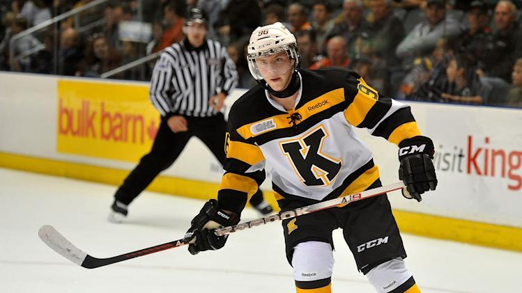 Spencer Watson of the Kingston Frontenacs