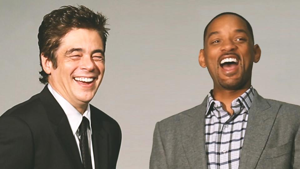 Will Smith and Benicio Del Toro on Finding Their Character