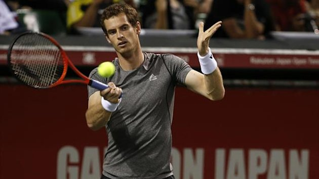 Murray in action in Japan (Reuters)