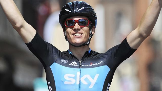 Cycling - Swift impresses with third-place finish in Milan-San Remo