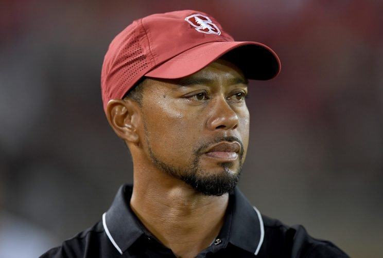 Tiger Woods wishes he finished out at Stanford. (Getty Images)