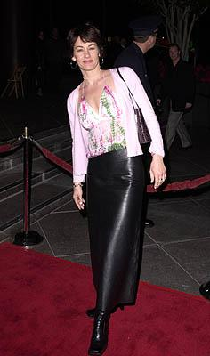Julie Cypher at the Los Angeles premiere of Guy Ritchie 's Snatch (1/18/2001) Photo by Steve Granitz/WireImage.com