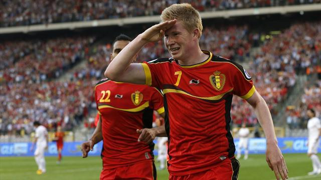 World Cup - Belgium v France: LIVE