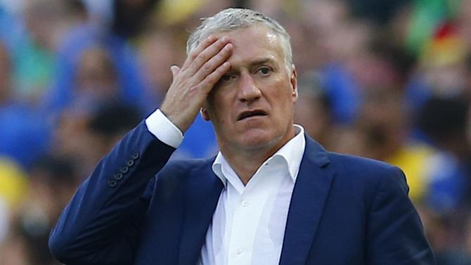 World Cup - Deschamps rues missed chances, lack of experience