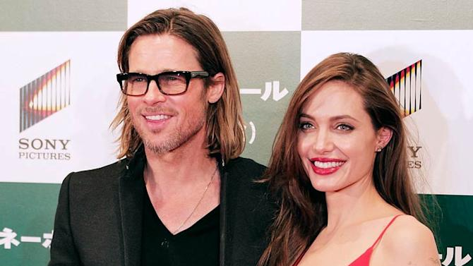 Pitt Jolie Moneyball Japan Premiere