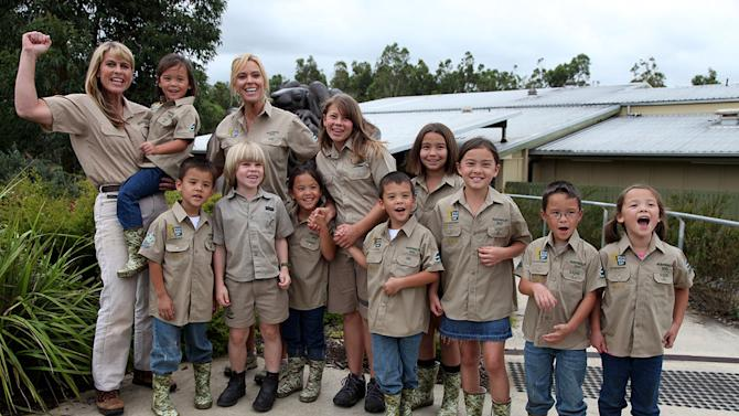 """Gosselins and Irwins together at the Australia Zoo as seen on """"Kate Plus 8."""""""