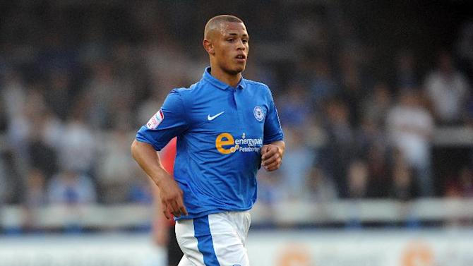 Jonson Clarke-Harris penned a two-year deal with Peterborough in the summer