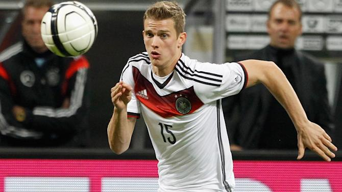 World Cup - Germany's Lars Bender out of Brazil 2014 with thigh injury