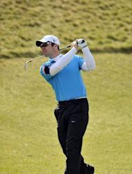 "English golfer Paul Casey takes part in the Ballantine's Championship at the Blackstone Resort in South Korea on April 27. Casey said he's still hunting for the missing ""edge"" that put him among golf's elite after three years of injury problems, including a snowboarding accident, knocked his career sideways"