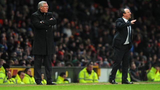 Football - Ferguson: We were lucky to draw