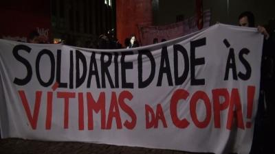 Brazil: Protest Against World Cup in Sao Paulo