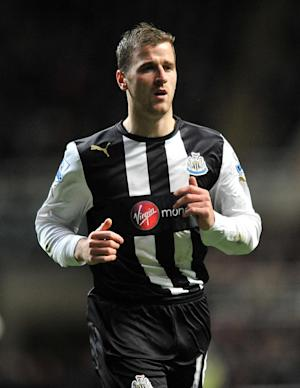 An understrength Newcastle side had Ryan Taylor to thank for escaping with a draw