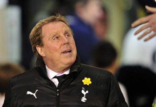"""I have a very good job at Tottenham at the moment and I enjoy it,"" Redknapp said"