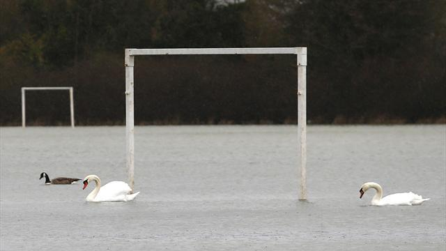 Football - FA Cup clash off as weather hits fixture list