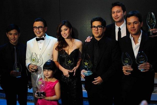 The winners of the 28th PMPC Star Awards for Movies held at the Meralco Theater in Pasig City on 14 March 2012.