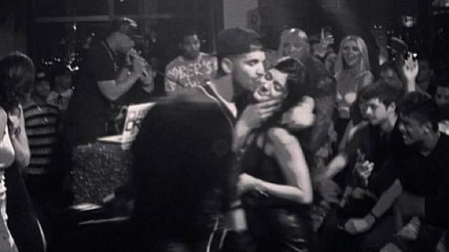 Drake kisses Kylie Jenner at her 16th birthday party -- Instagram