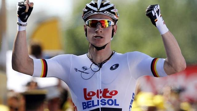 Tour de France - Greipel wins as Impey moves into historic yellow
