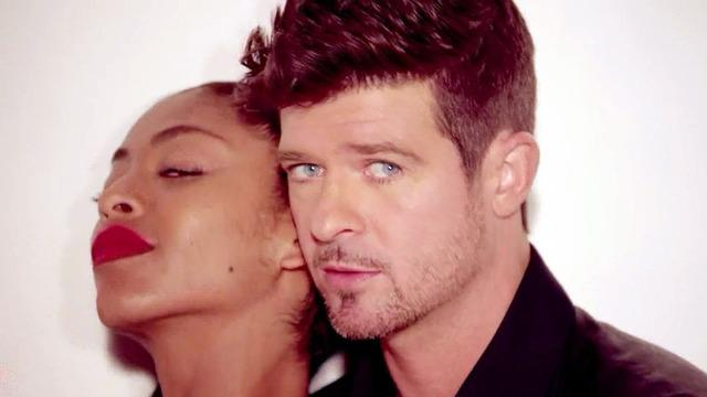 "Robin Thicke faces court for ""Blurred Lines"""