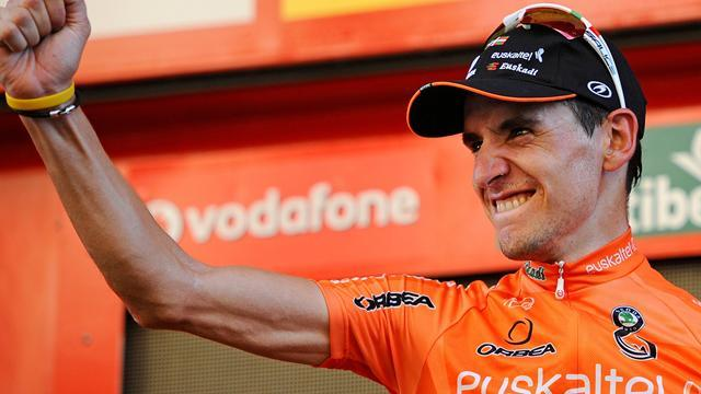 Cycling - Antón brings final touch to Movistar
