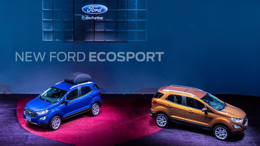 New Ford EcoSPORT 動勁智慧輕休旅 正式上市