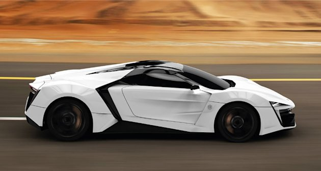 Made In Uae First Middle East Super Car Lykan Hypersport