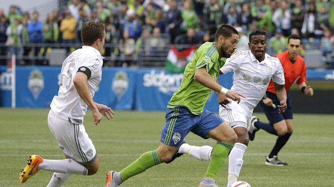 Sounders and Sporting Kansas City play to 0-0 tie