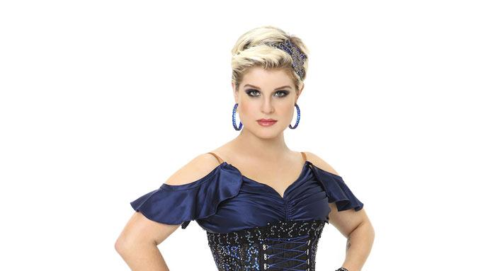 "TV personality Kelly Osbourne competes in season 9 of ""Dancing with the Stars."""