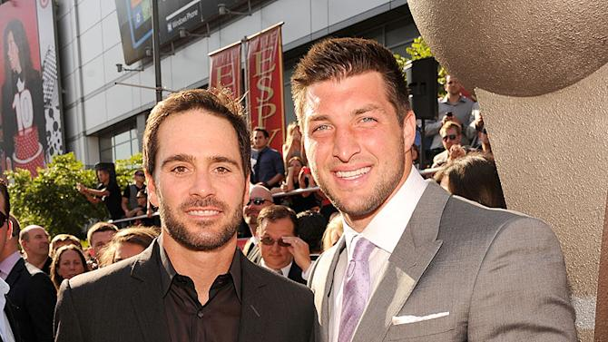 Jimmie Johnson, Tim Tebow