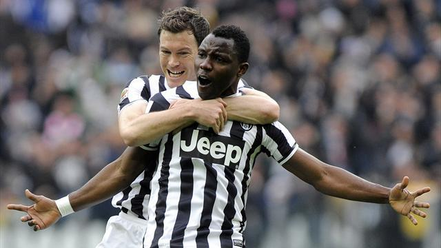 Serie A - Asamoah: Conte turned tide