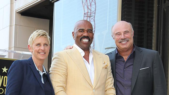 Steve Harvey Honored With Star On The Hollywood Walk Of Fame