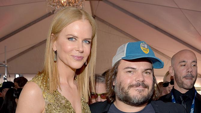The 55th Annual GRAMMY Awards - Red Carpet: Nicole Kidman and Jack Black