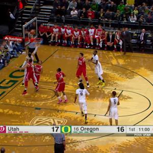 Highlights: Dillon Brooks' career day guides Oregon to sixth-straight win