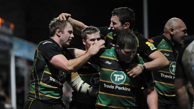 Northampton go top with Wasps win