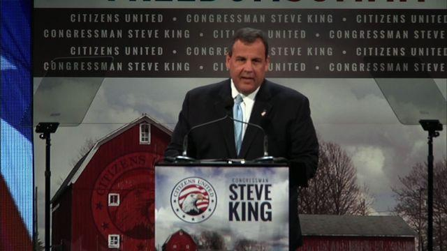 """Christie in Iowa: """"Why do you people keep inviting me back?"""""""