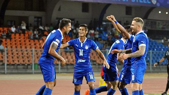 Bengaluru FC humiliate Sporting Clube de Goa 4-1 to stay close behind Mohun Bagan