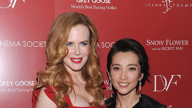 Snow Flower and the Secret Fan NY Screening 2011 Nicole Kidman Li Bingbing