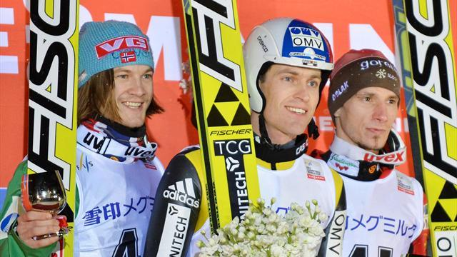 Ski Jumping - Matura's magical moment in Sapporo