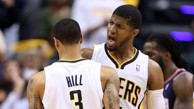 Basketball - Pacers level play-off series with Hawks