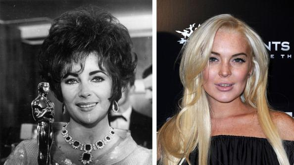 FILE PHOTO:  Actress Lindsay Lohan To Play Elizabeth Taylor In Biopic Role