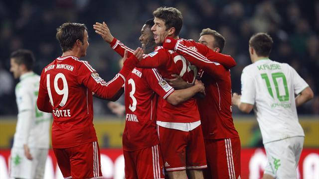 Bundesliga - Bayern 10 clear after win over Moenchengladbach