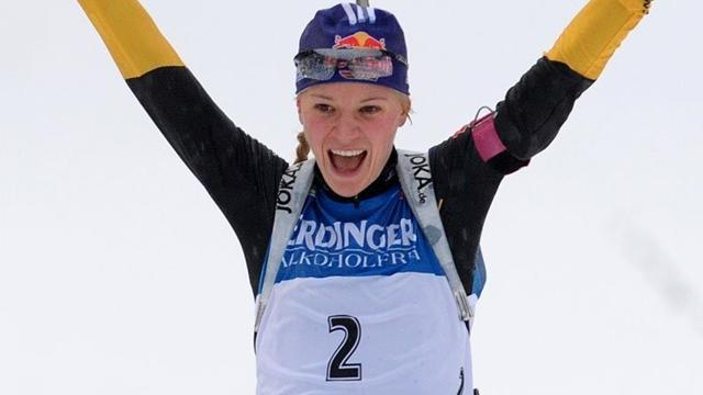Biathlon - Gossner triumphant on home snow in Oberhof