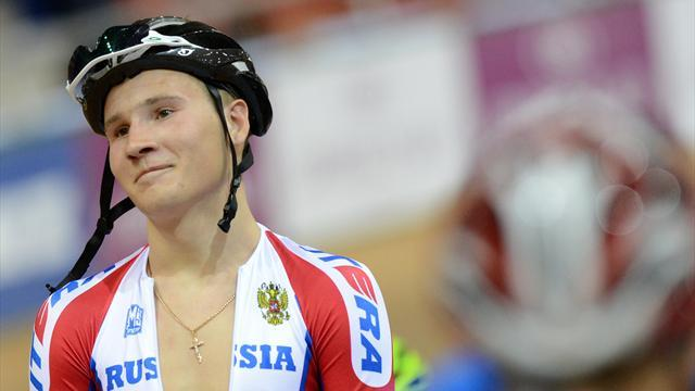 Cycling - Russian track cyclist Sveshnikov suspended for doping