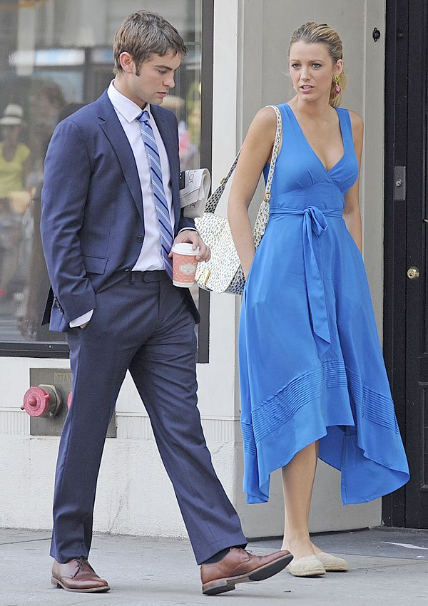 Spotted: Serena & Nate Get Close On Season 6 Of 'Gossip Girl'