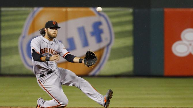 Pence drives in 3, Giants beat Phillies 3-1
