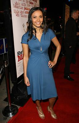Jessica Lucas at the LA premiere of Dreamworks' She's the Man